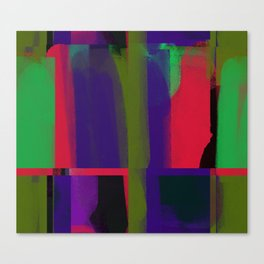 Avant-garde colours Canvas Print