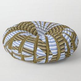 Basket weaving 101... Floor Pillow