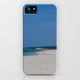 Son Bou, Menorca. iPhone Case