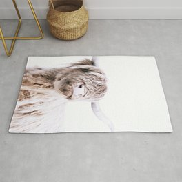 HIGHLAND CATTLE PORTRAIT Rug