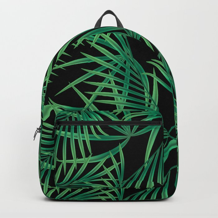 Tropical pattern. Backpack