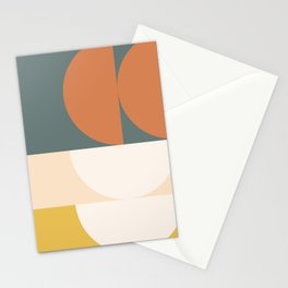 Abstract Geometric 02 Stationery Cards