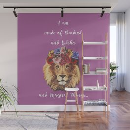 Stardust Lion Wall Mural