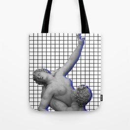 Vaporwave Roman Statues Tote Bag