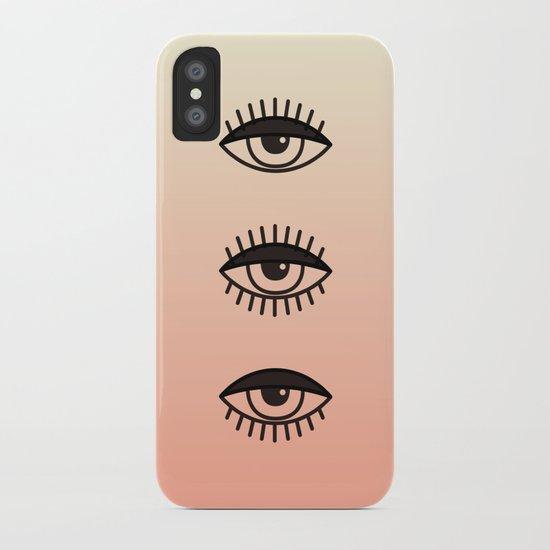 AWAKE ASLEEP iPhone Case