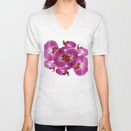 Orchids No.1 Unisex V-Neck