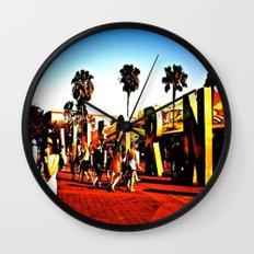 california adventuring Wall Clock
