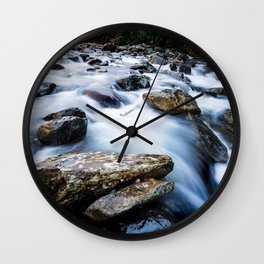 Take Me to the River - Rushing Rapids in the Great Smoky Mountains Wall Clock
