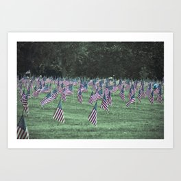 Allegheny County Cemetary Art Print