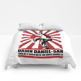 Damn Daniel-san Comforters