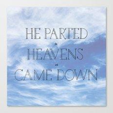 Psalm 18 Canvas Print