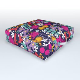 Bloomin' Australian Flowers Outdoor Floor Cushion