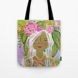 Warrior Spirit Johanna Tote Bag