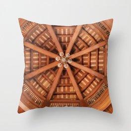Wooden Sruckture Throw Pillow