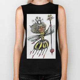 Queen Bee of Color Biker Tank