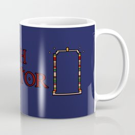 4th Doctor Tardis Coffee Mug