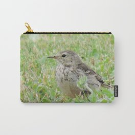 Pipit on the Lawn Carry-All Pouch