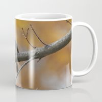 sparrow Mugs featuring Sparrow by Tammi Hofstetter