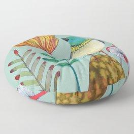my heart of gold Floor Pillow