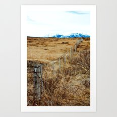 Icelandic View Art Print