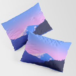 Mount Fuji Sunrise Pillow Sham