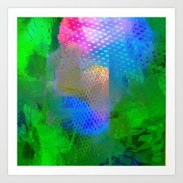 Splash Exclusion Art Print