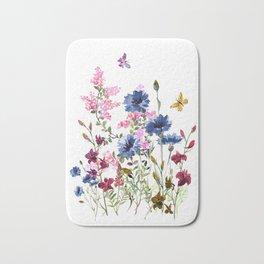 Wildflowers IV Bath Mat