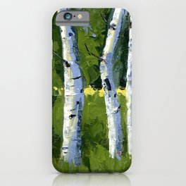 Aspens - Catching the Light iPhone Case