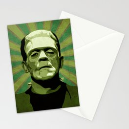 Frankenstein - Pop Art Stationery Cards