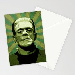 Frankenstein - Pop Art Stationery Cards