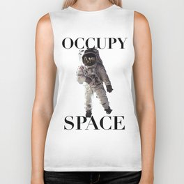 Occupy Space Biker Tank