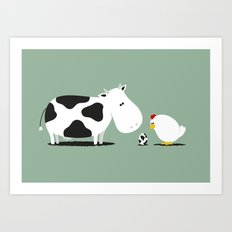 A birth day Art Print