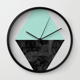 Minimalist watercolor and fashion Wall Clock