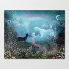 Valley Ghosts Canvas Print