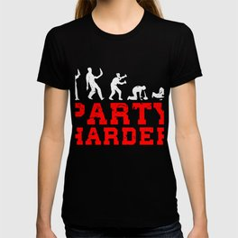 Party Harder Alcohol Drinker, Drunk Drinking Squad T-shirt
