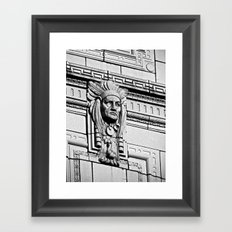 Building Chief Framed Art Print