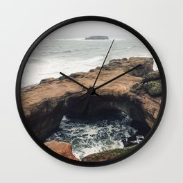 Otter Rock Wall Clock