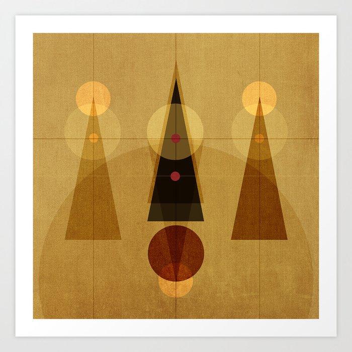 Geometric/Abstract 5 Art Print