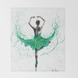 Emerald City Dancer Throw Blanket