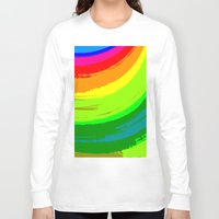 pride Long Sleeve T-shirts featuring Pride by Vix Edwards - Fugly Manor Art