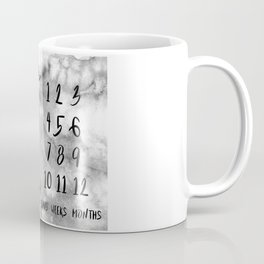 Water Cactus - Milestones by Day Month Year Coffee Mug
