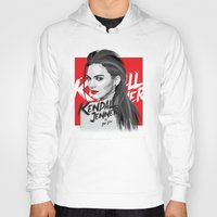 kardashian Hoodies featuring Kendall Jenner by Dik Low