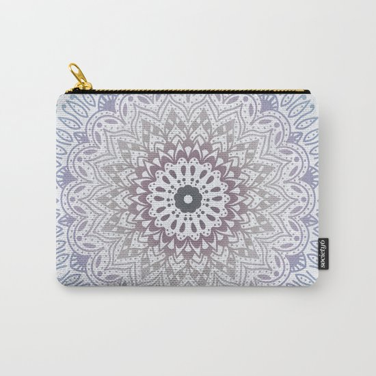 BLUE SUMMER MANDALA Carry-All Pouch