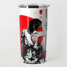 Trash Polka - Female Samurai Travel Mug