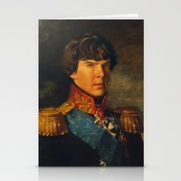 benedict Stationery Cards featuring BENEDICT by John Aslarona