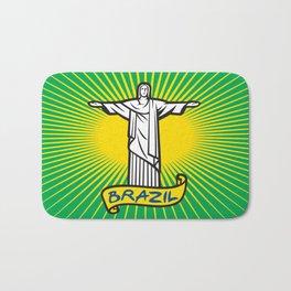 Christ the Redeemer statue in Rio de Janeiro, Brazil Bath Mat