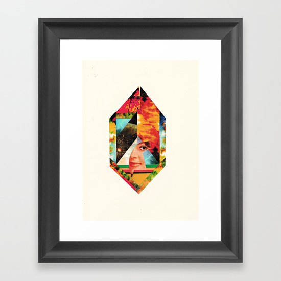 I'm New Here Framed Art Print