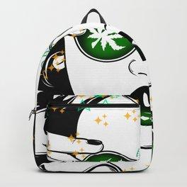 She's So Fly Cannabis Girls Emerald Green Backpack
