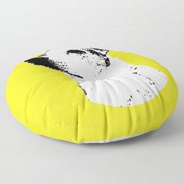 Potrait of a Jack Russell Terrior Floor Pillow
