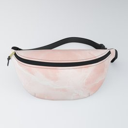 Bright Pink Marble Fanny Pack